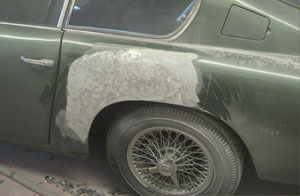 Aston Martin DB6 bodywork repair
